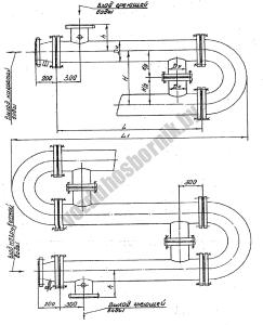 Многосекционный водоводяной подогреватель